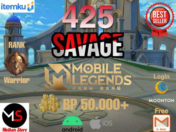 Smurf Savage 425 bisa request ganti Nama Berwarna