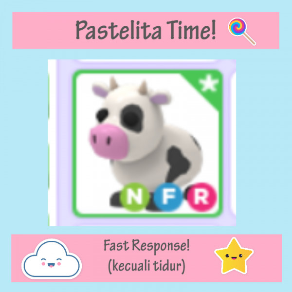 Cow NFR | Neon Fly and Ride - Adopt Me Roblox