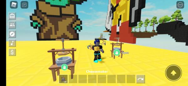 Chesse maker island skyblox