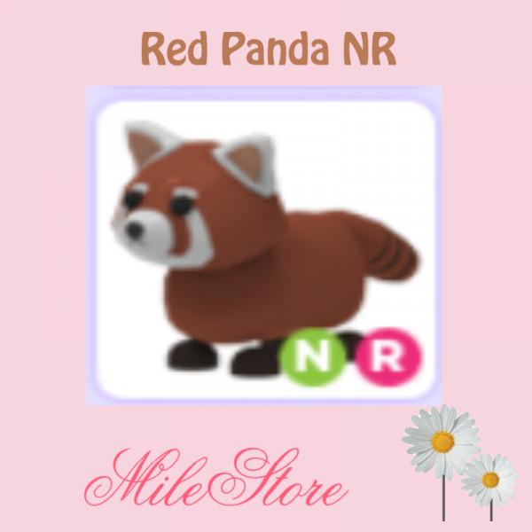 Red Panda NR (Neon Ride) Adopt Me
