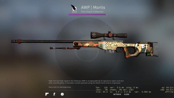 AWP | Mortis (Minimal Wear)