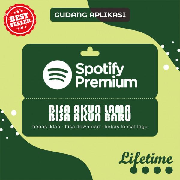 Jual Spotify Premium Selamanya Dari Gudang Aplikasi Itemku