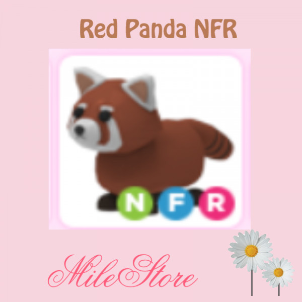 Red Panda NFR (Neon Fly Ride) Adopt Me
