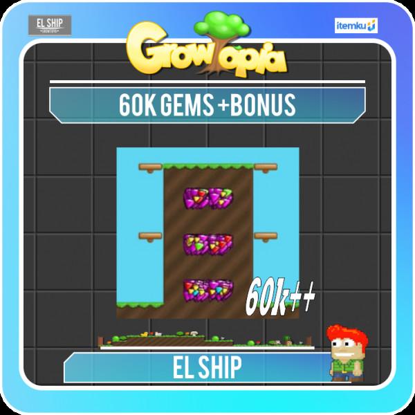 Gems 60k / 60000 (BONUS)