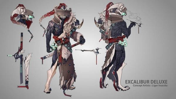 Excalibur Zato Skin