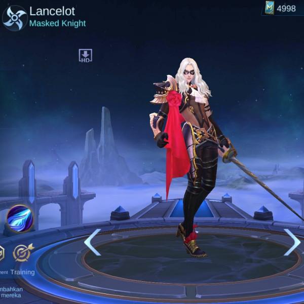 Masked Knight (Skin Lancelot)