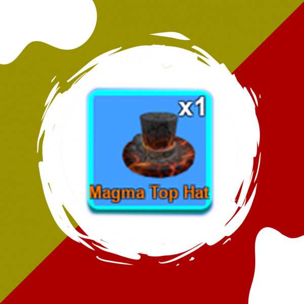 Magma Top Hat | Mining Simulator