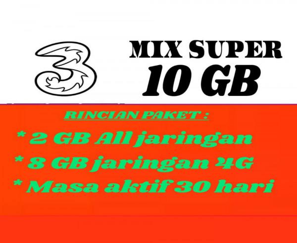 Mix Super 10 GB