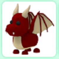 RED DRAGON PET ADOPT ME NORMAL