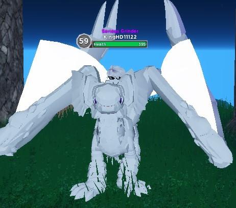 Pure White Magmip Dragon Adventures