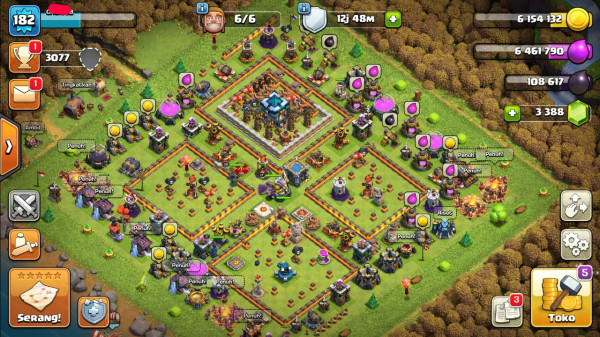 Clash of Clans TH 13 Max Builder 6