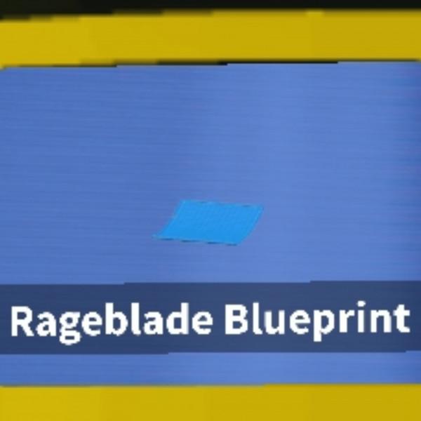 Rage Blade BLUEPRINT island skyblox