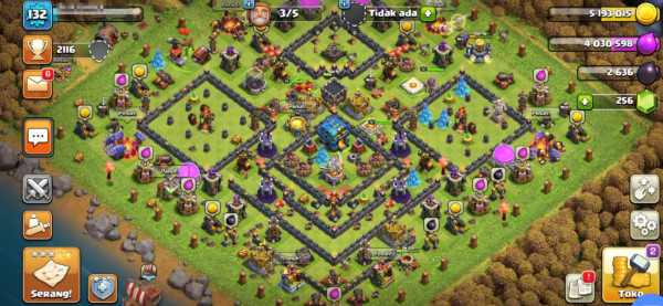 Clash of Clans SC ID-TH 12 Good Level