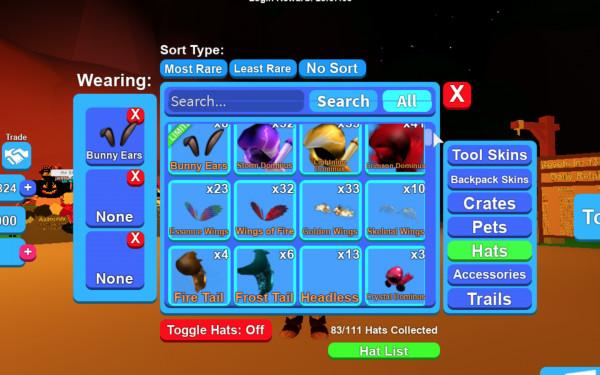 Mythical Hat-Mining Simulator