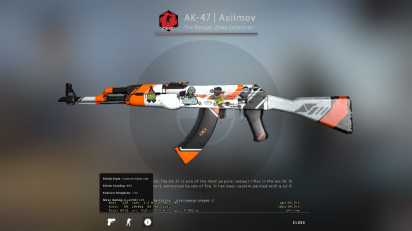AK-47 | Asiimov [FT] Full Sticker