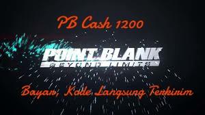 Voucher PB Cash 1200