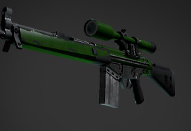 G3SG1 | Green Apple (Industrial Grade Sniper Rifle)