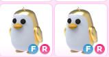 Golden Penguin FR - Adoptme