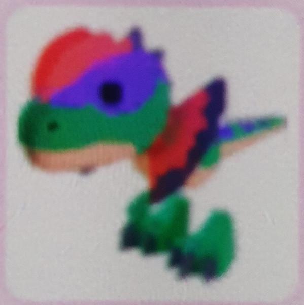 Dilophosaurus pet rare, adopt me