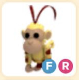 FR Fly Ride King Monkey Adopt Me Legendary