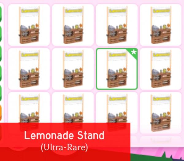 lemon stand adopt me