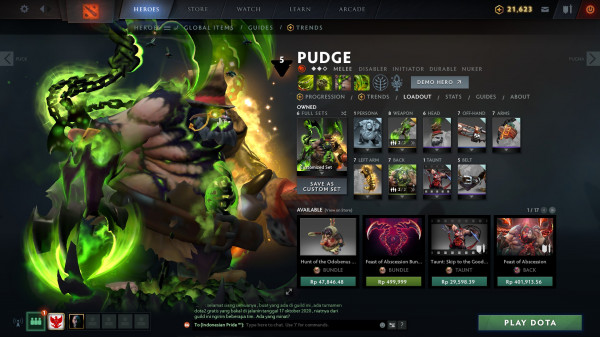 The Abscesserator (Bundle Immortal Pudge TI 10)