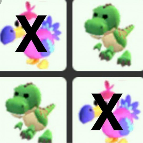T rex polos