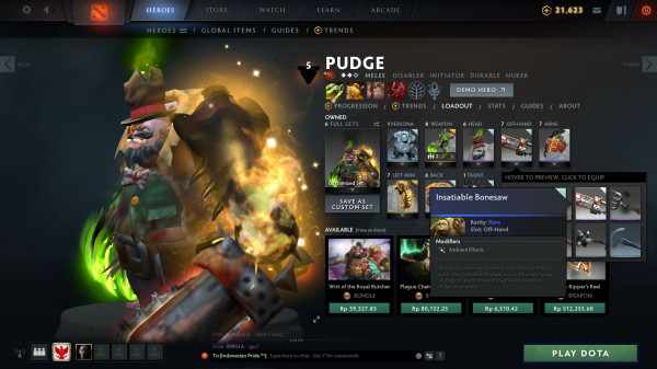 Insatiable Bonesaw (Pudge)