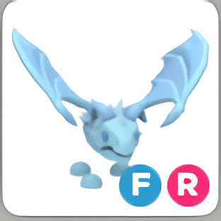 FR Frost Dragon (FULL GROWN) Adopt Me