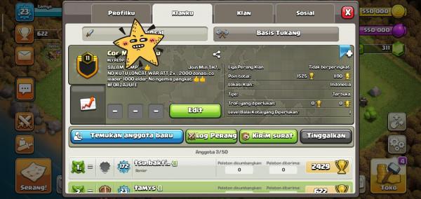 Clan lavel 11 top banget