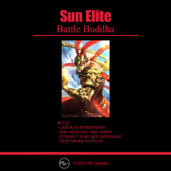 Battle Buddha (Elite Skin Sun)