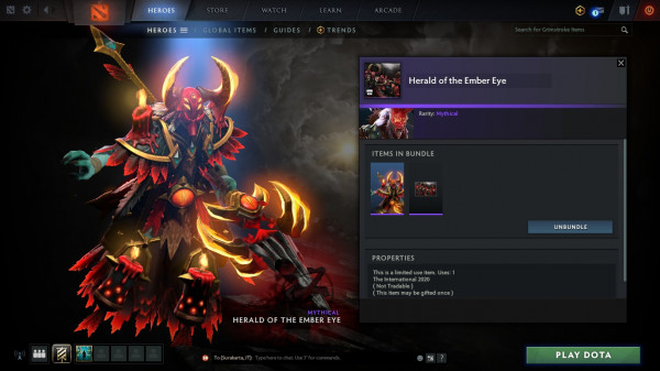 Herald of the Ember Eye (Bundle Grimstroke Collector's Cache TI 10)