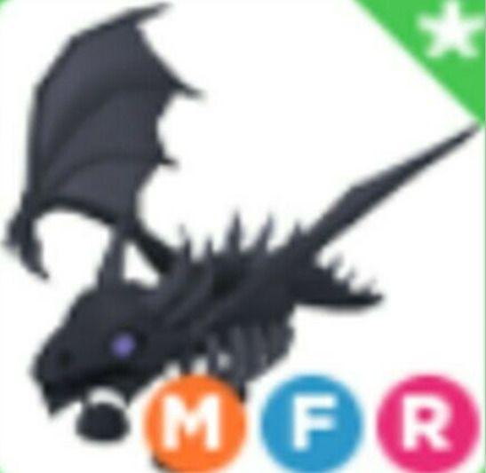 Mega Shadow Dragon Adopt Me (sangat langka)