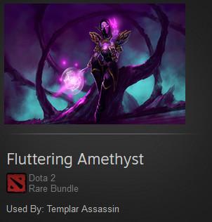 Fluttering Amethyst (Templar Assassin Set)