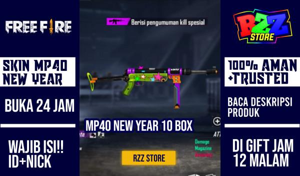 10 Box MP 40 New Year