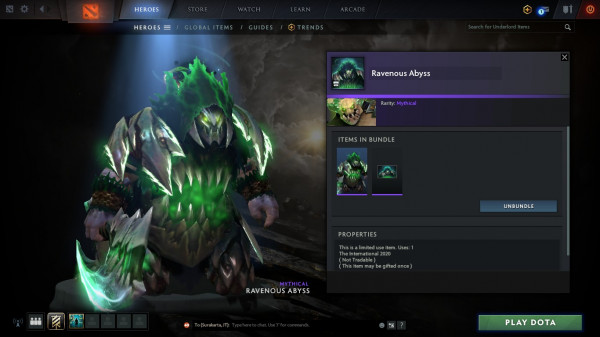 Ravenous Abyss (Bundle Underlord Collector's Cache TI 10)