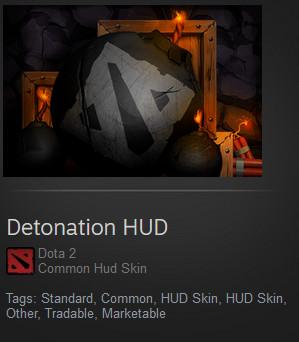 Detonation HUD (Dota 2 HUD)