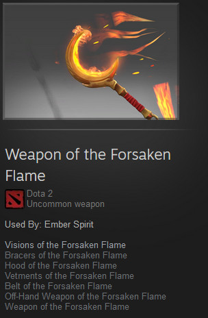 Weapons of the Forsaken Flame (Ember Spirit)