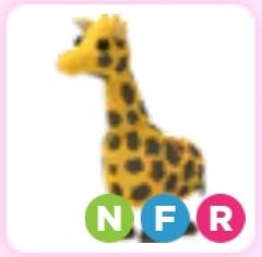 Neon Giraffe Adopt Me (langka)
