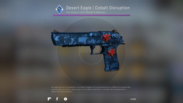 Desert Eagle | Cobalt Disruption (Classified Pistol)