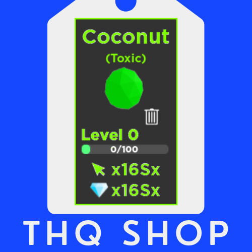Coconut (TOXIC) | Tapping Legends