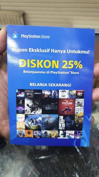 Kode Diskon 25% di PSN Store