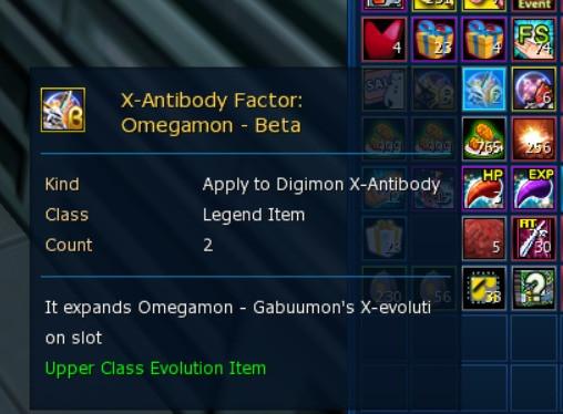 Omegamon X beta