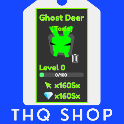 Ghost Deer (TOXIC) | Tapping Legends