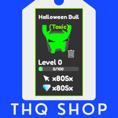 Halloween Bull (TOXIC) | Tapping Legends