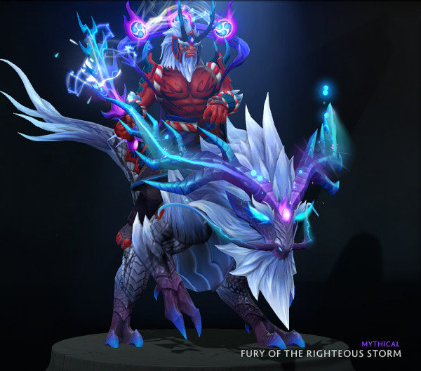 Fury of the Righteous Storm (Bundle Disruptor Collector's Cache TI 10)