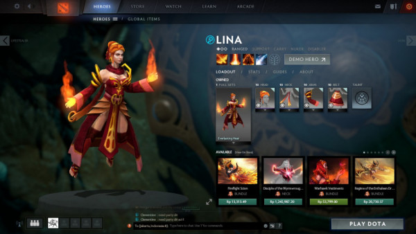 Everlasting Heat (Lina Set)