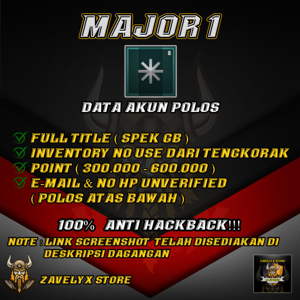 MAJOR GRADE 1 SPEK GB FT