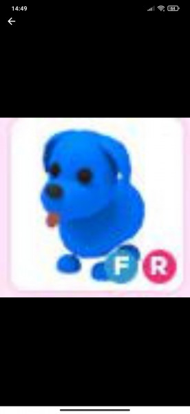 FR Blue Dog Langka Fly Ride Langka
