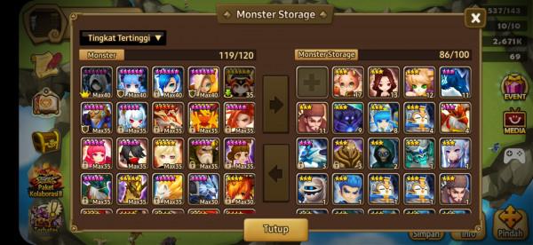 Eropa 6 monster *5 Saera Ariel dll